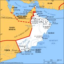 map of oman and uae map of oman and uae major tourist attractions maps