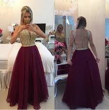 long sleeve prom dress pink prom dress chiffon prom dress 2017