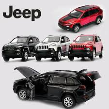 jeep cherokee back 1 32 jeep cherokee alloy pull back suv car kid led light toy diecast
