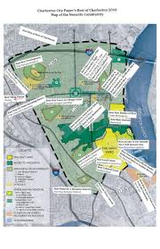 Charleston Sc Map Planning For Integrated Restoration The Noisette Community Is A