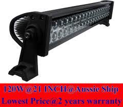 Led Light Bar 12v by 24inch 120w 12v Led Light Bar Spot Work Lights 4wd Ute Offroad