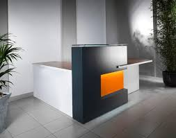 Small Reception Desk Ideas L Shaped Reception Desk With Counter U2014 All Home Ideas And Decor