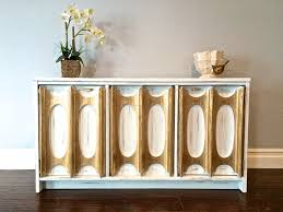 Shabby Chic Table by Shabby Chic White U0026 Gold Leaf Sideboard Sofa Table 350 Sold