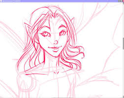 how to draw a fairy w free line art for you to color youtube