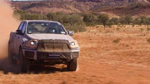 road ford ranger ranger raptor goes road in australia