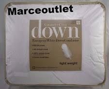 Light Weight Down Comforter Charter Club European White Down Light Weight Full Queen Comforter