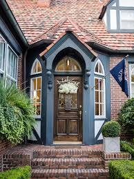 tudor style houses ideas for using landscaping to create curb appeal hgtv