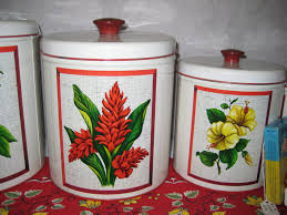 yellow kitchen canisters c dianne zweig kitsch u0027n stuff red green yellow kitchen