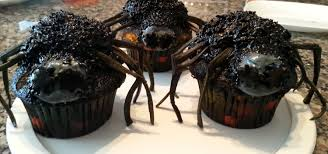 scary halloween spider cupcakes how to decorate youtube
