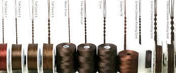 knotting cord stitchionary beadshop