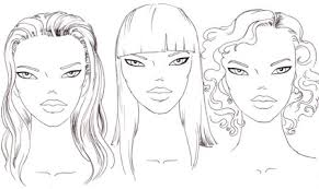 how to draw the face i draw fashion