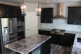 Kitchen With Dark Cabinets How To Choose Between Light And Dark Granite U2026 U2013 Katie Jane Interiors