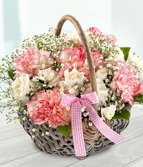 s day flower delivery beautiful day mothers day flower basket arrangement delivered