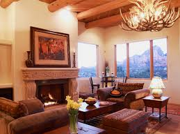 Southwestern Living Room Furniture Style Decorating Ideas Style Adobe And