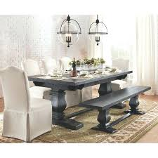 Rustic Farmhouse Dining Table With Bench Rustic Farmhouse Dining Table With Bench House Seats Room Tables