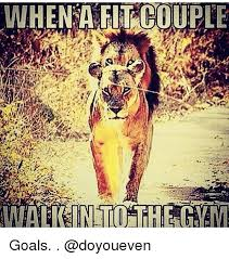 Fit Couple Meme - when a fit couple goals doyoueven goals meme on me me
