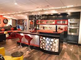 bar decor 27 stylish basement bar décor ideas digsdigs