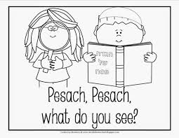 wine and matzoh free passover coloring pages at shalom living
