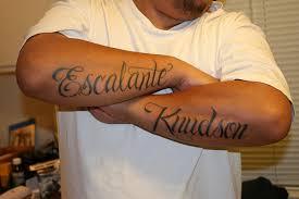 30 gorgeous script tattoos creativefan