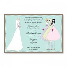 bridesmaids invitations bridesmaids invitations sample