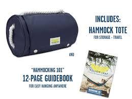 Ez Hang Hammock Chair Bright Breezy Portable Hammock Yellow Leaf Double Hammock