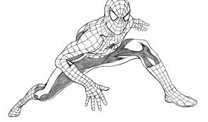 spider man drawing pencil archives pencil drawing collection