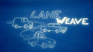 is it faster to weave in and out of traffic or stay in one lane