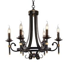 Black Chandelier With Shades Black Traditional Chandelier Musethecollective