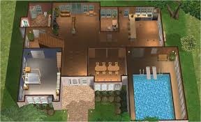 house plans with indoor pool mod the sims tiavani classics series luxury contemporary home