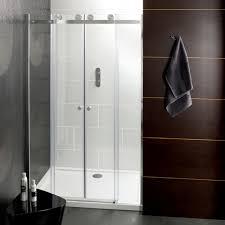 bathroom shower doors ideas sliding shower door turin 8mm sliding shower door easy fit