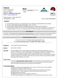 Senior Systems Engineer Resume Sample by Engineering Cover Letter Ex Les Moreover Linux Engineer Sample