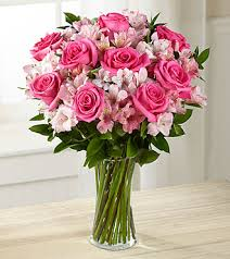 pink bouquet dreamland pink bouquet vase included