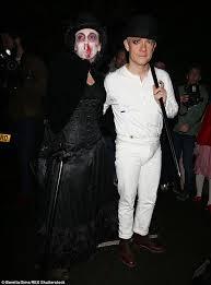 Clockwork Orange Halloween Costume Claudia Schiffer Leads Celeb Guests Jonathan Ross