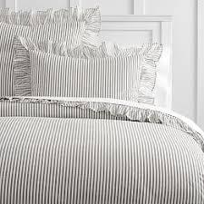 White Ruffled Comforter Girls U0027 Bedding Sale Pbteen