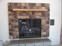 fireplace rocks home decor