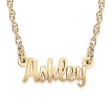 sterling silver nameplate necklace alison sterling silver mini nameplate necklace buybuy baby