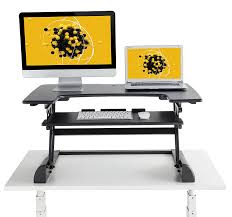 sit stand computer desk heavy duty sit stand computer desk adjustable height no assembly