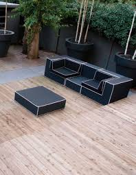 Black And White Outdoor Furniture Interior Design Architecture - Black outdoor furniture