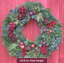 fruit and fir wreath fresh wreaths