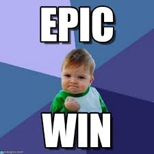 Epic Win Meme - epic success kid meme on memegen