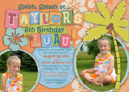 luau birthday invitations templates best invitations card ideas