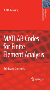 ferreira 2009 matlab codes for finite element analysis