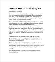 music marketing plan template u2013 10 free sample example format