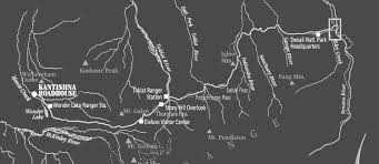 Denali National Park Map About Kantishna Roadhouse In Denali National Park