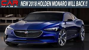 vauxhall monaro ute new 2018 holden monaro specs and release youtube