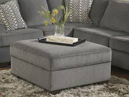 fantastic gray storage ottoman inspire at home crystal tufted