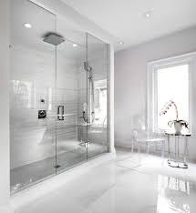 shocking frameless shower door decorating ideas for bathroom
