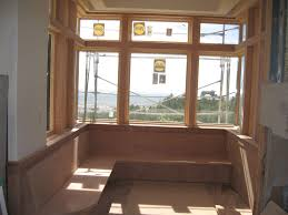 breakfast nook bench and windows contractortalk