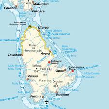 Map Of Bora Bora Map Raiatea French Polynesia Maps And Directions At Map
