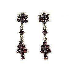 garnet earrings garnet earrings ebay